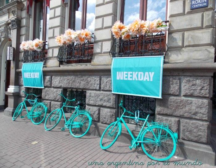 7 Fotos Favoritas en 7 Días: #3 Bicicletas Verdes (Ámsterdam, Holanda)