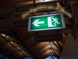 Exit - Barajas