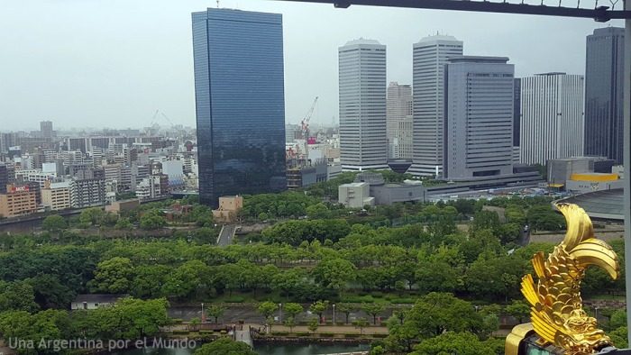 Osaka Castle City Lookv Japan