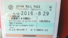 JR Pass 14 días