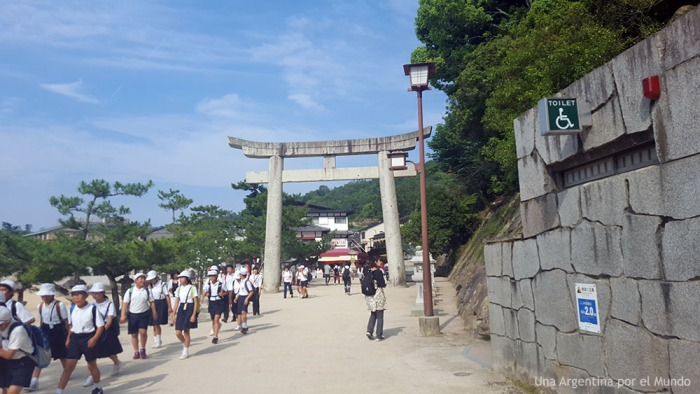 Torii Miyajima Itsukushima