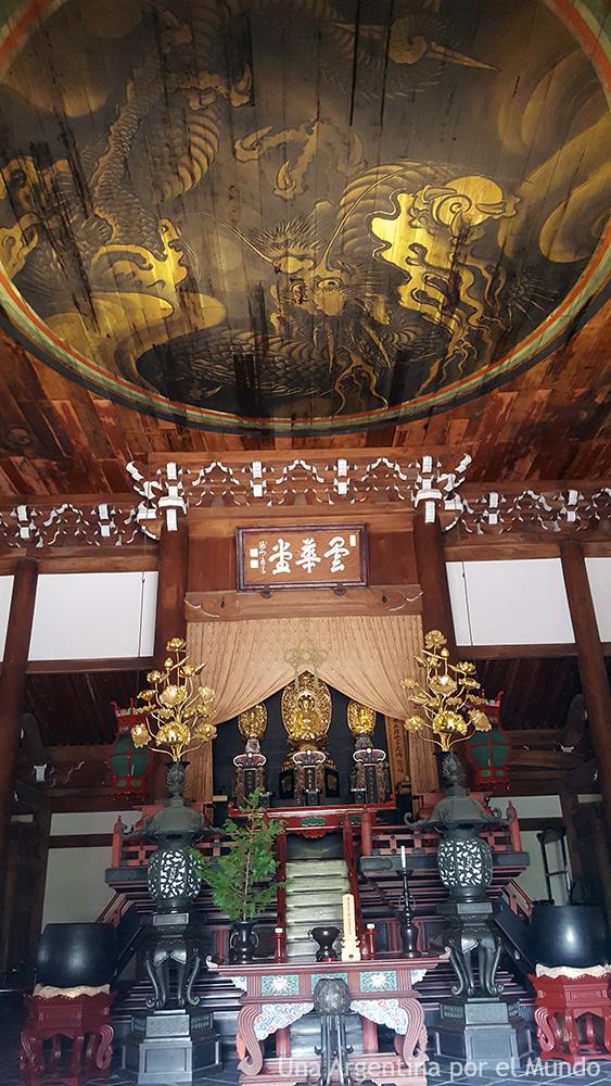 Interior de Nanzen-ji, templo budista zen