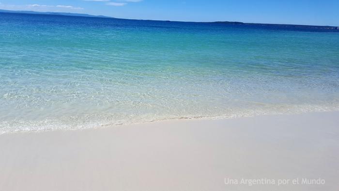 Arena y mar en Jervis Bay