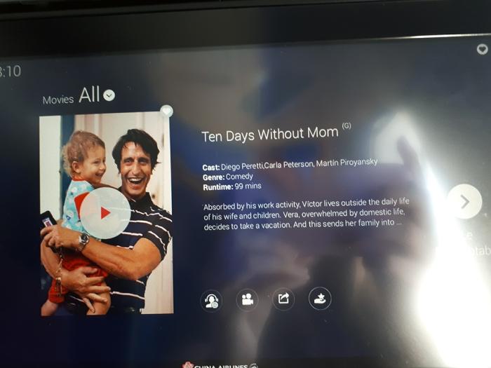 Mamá se fue de viaje China Airlines