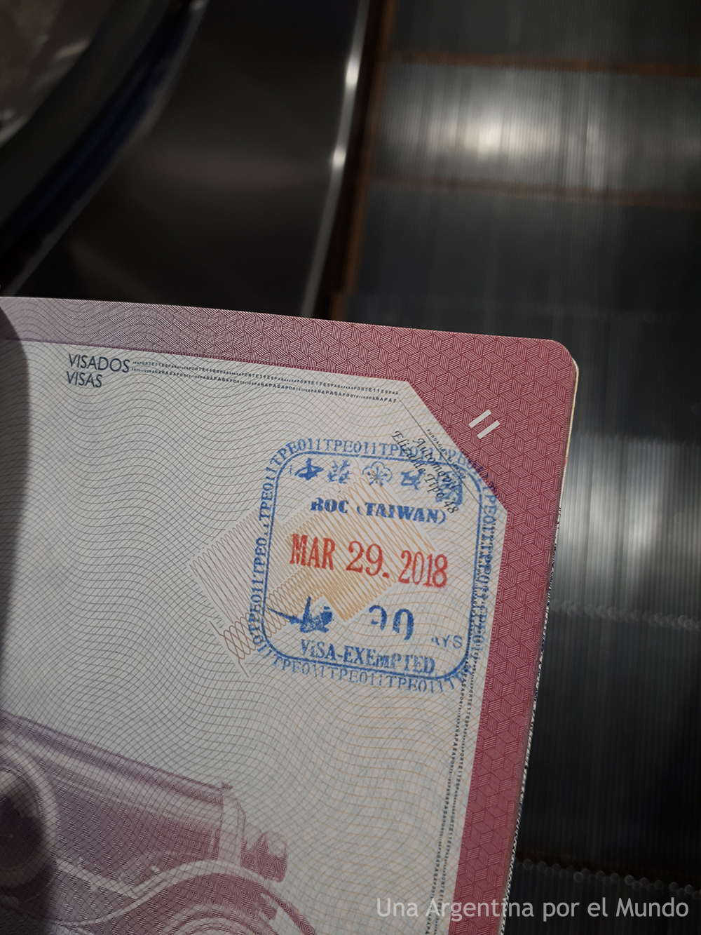 ROC Entry Stamp