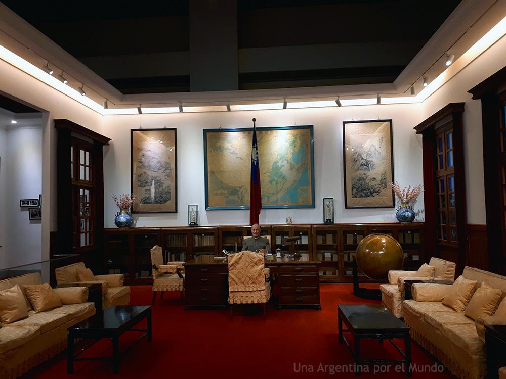 Réplica de la oficina de Chiang Kai-Shek