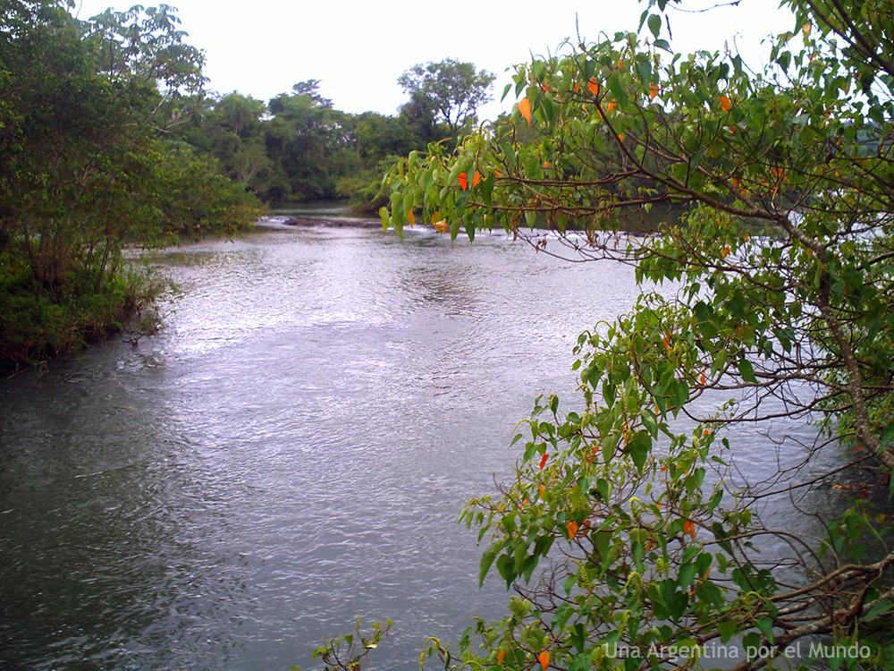 Rio Iguazu Parque Nacional Iguazu