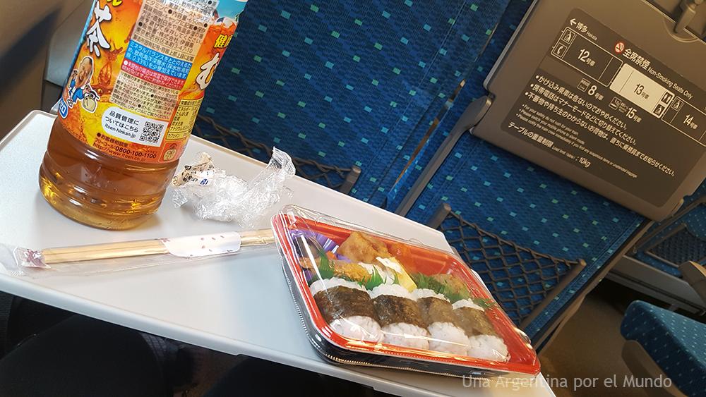 shinkansen comida